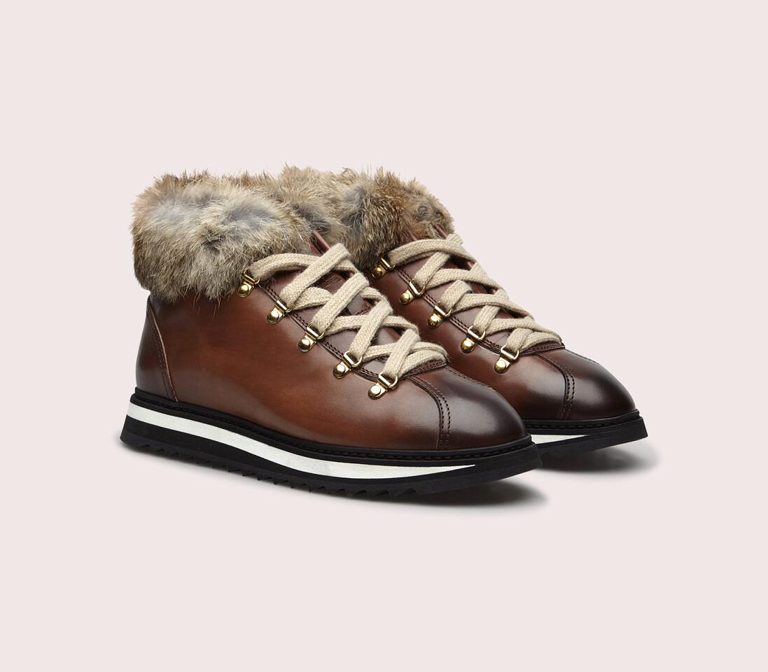 Sneakers da donna in pelle | marrone - Doucal's