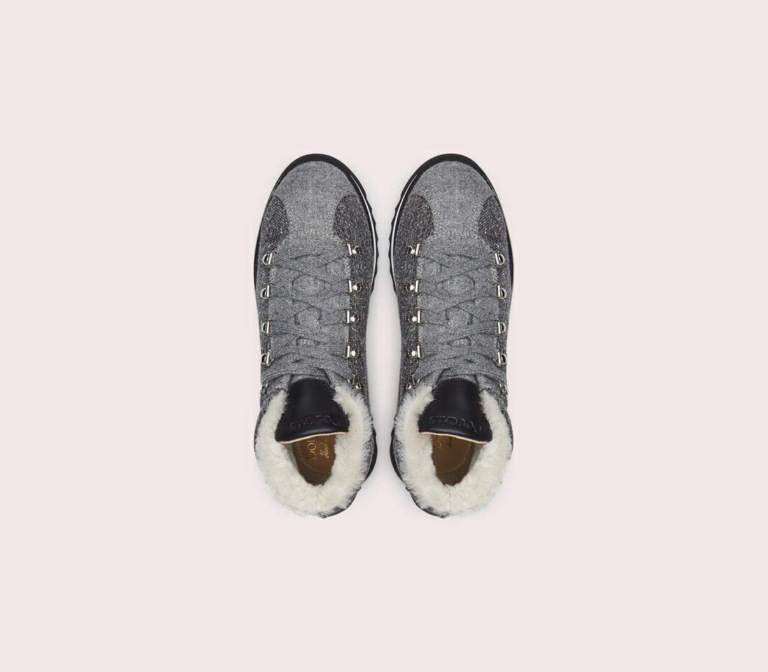 Sneakers da donna in tessuto | grigio - Doucal's
