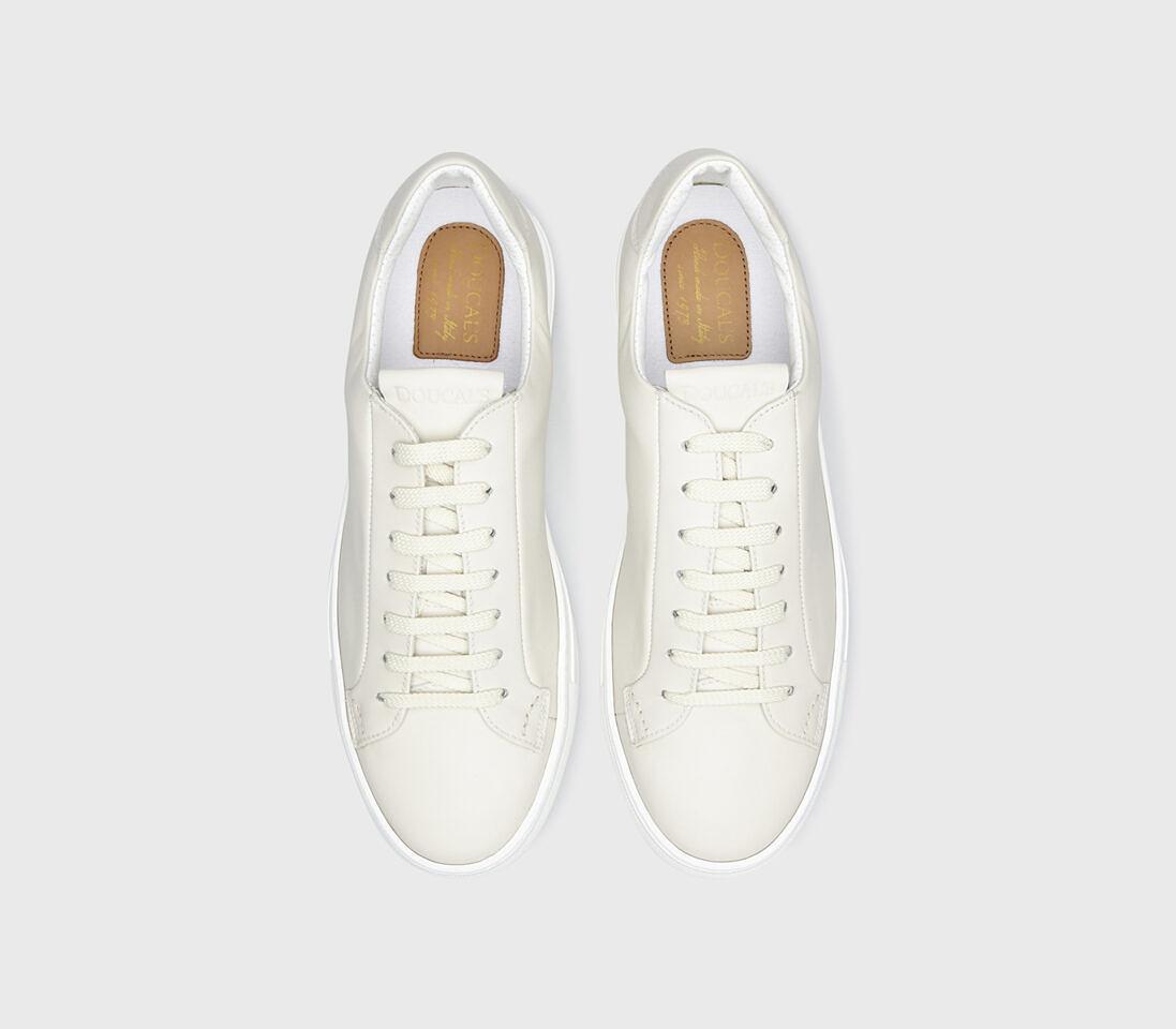 Sneakers da uomo in pelle | panna - Doucal's