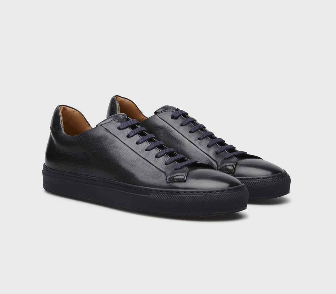 Sneakers da uomo in pelle | blu - Doucal's