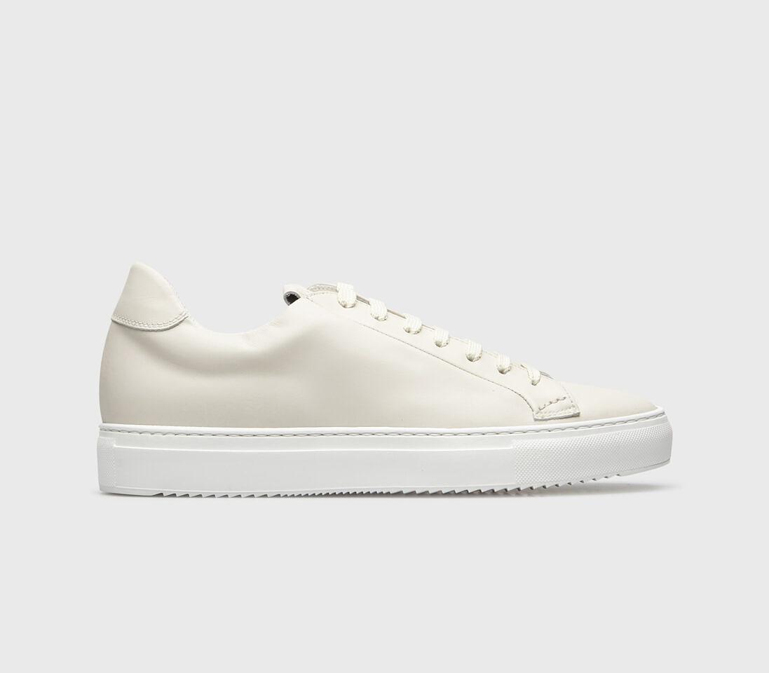 Sneakers da uomo in pelle   panna - Doucal's