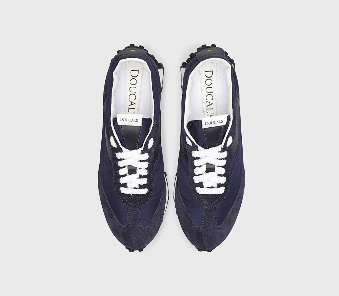 Sneakers da uomo in tessuto tecnico | blu - Doucal's