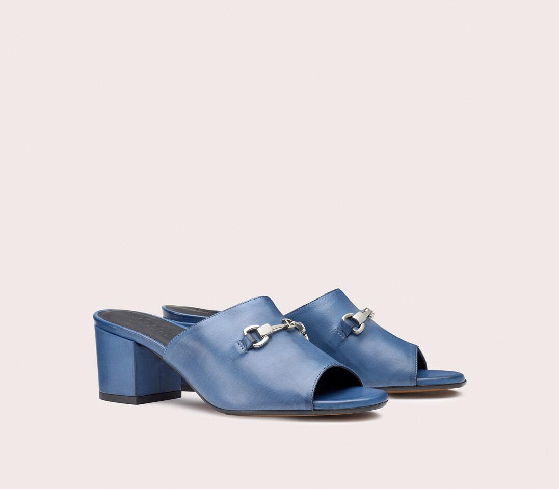 Sandali da donna in pelle | azzurro - Doucal's