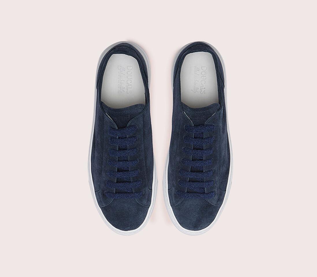 Sneakers da donna in suede   blu - Doucal's