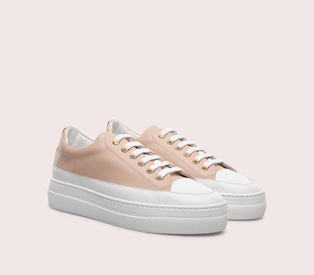 Sneakers da donna in pelle | cipria - Doucal's