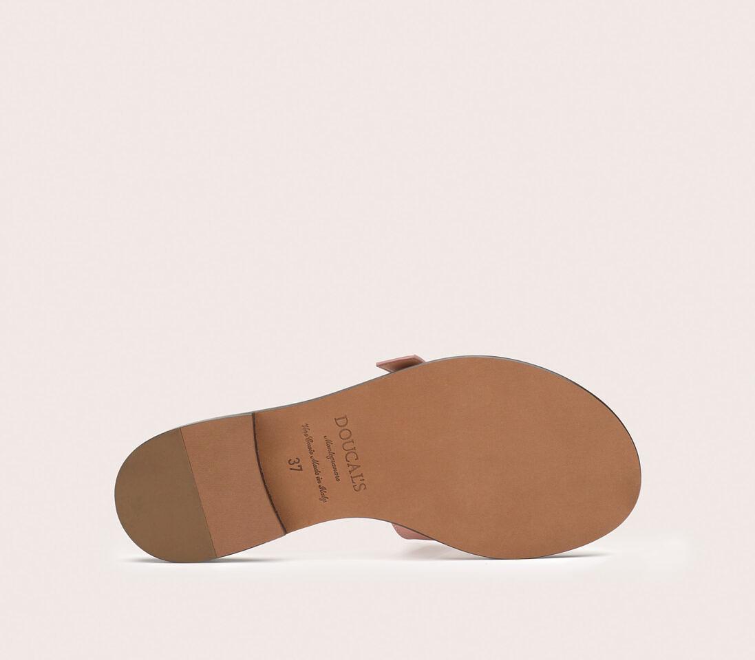Sandali da donna in pelle | nude - Doucal's