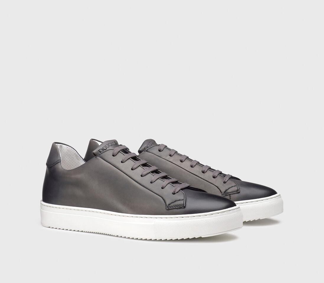 Sneakers da uomo in pelle | grigio - Doucal's