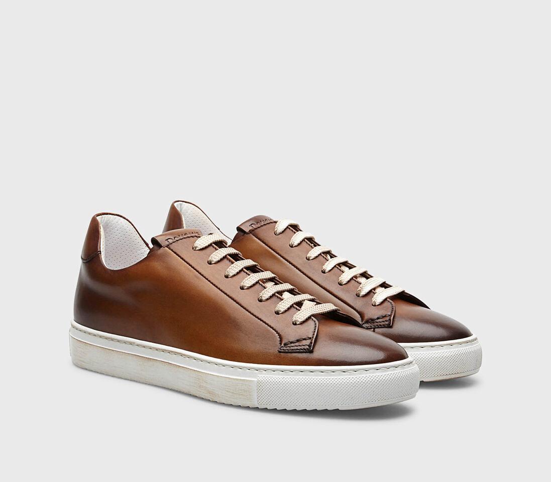Sneakers da uomo in pelle | brandy - Doucal's