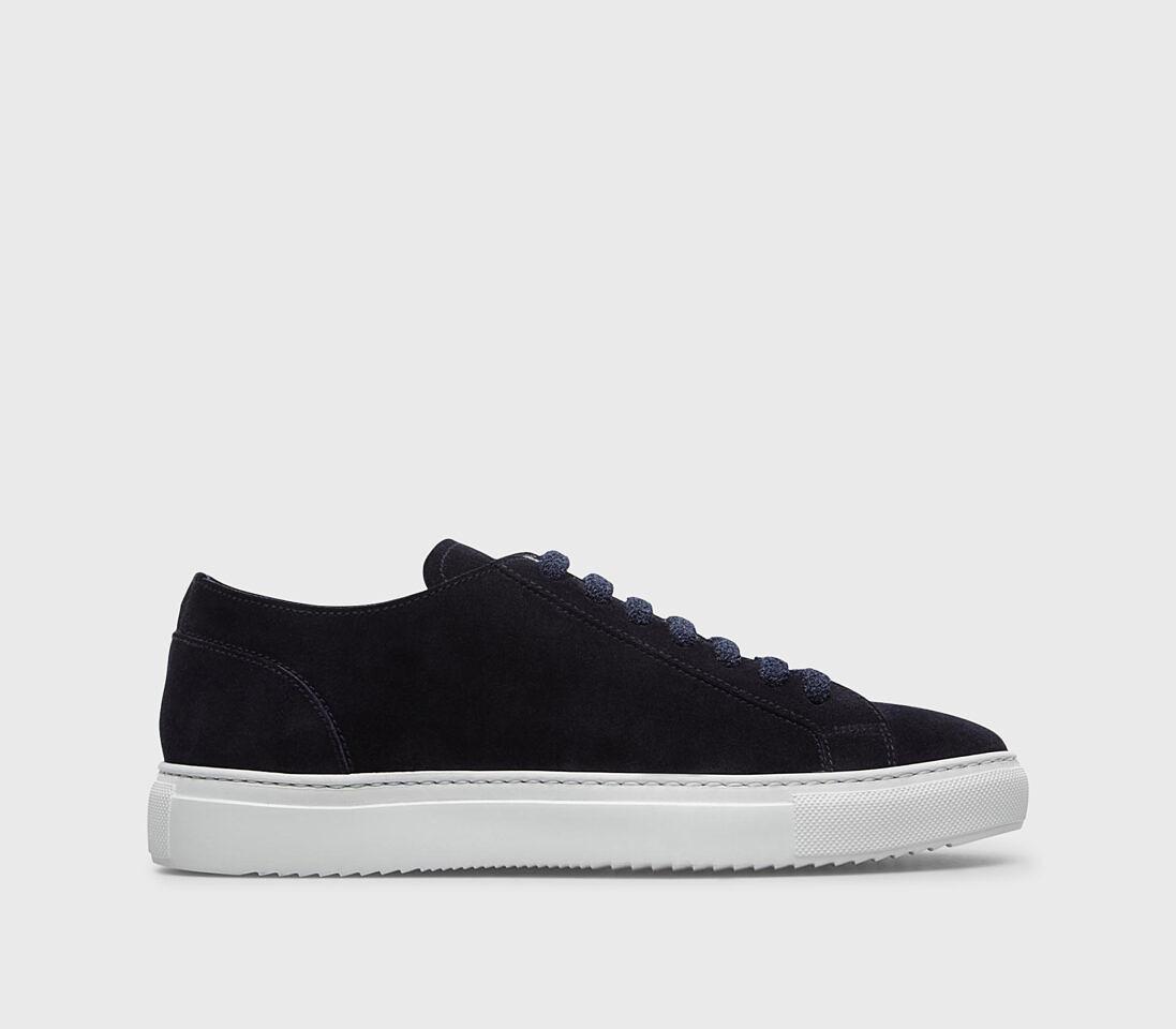 Sneakers da uomo in suede | blu - Doucal's