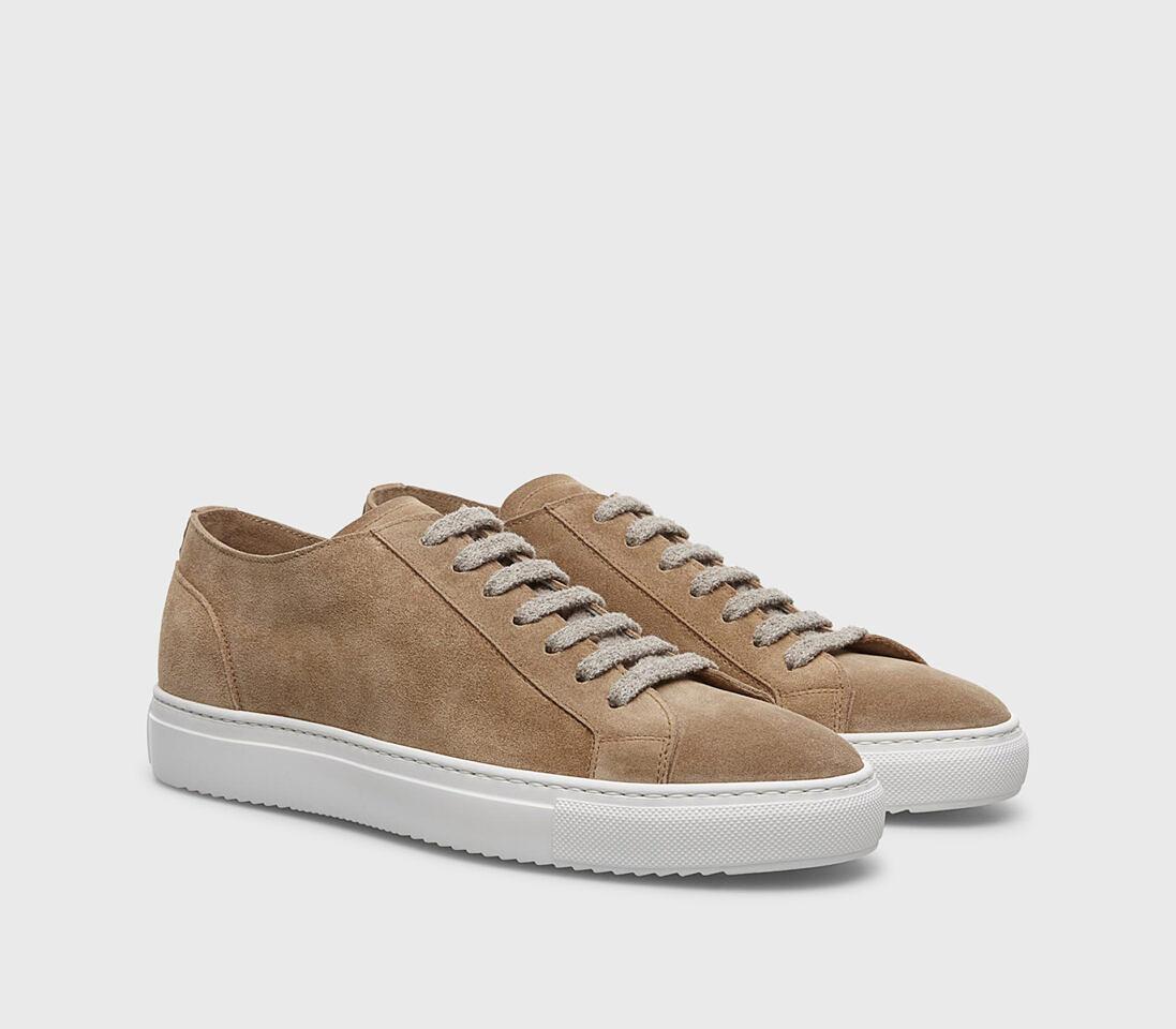Sneakers da uomo in suede   sabbia - Doucal's