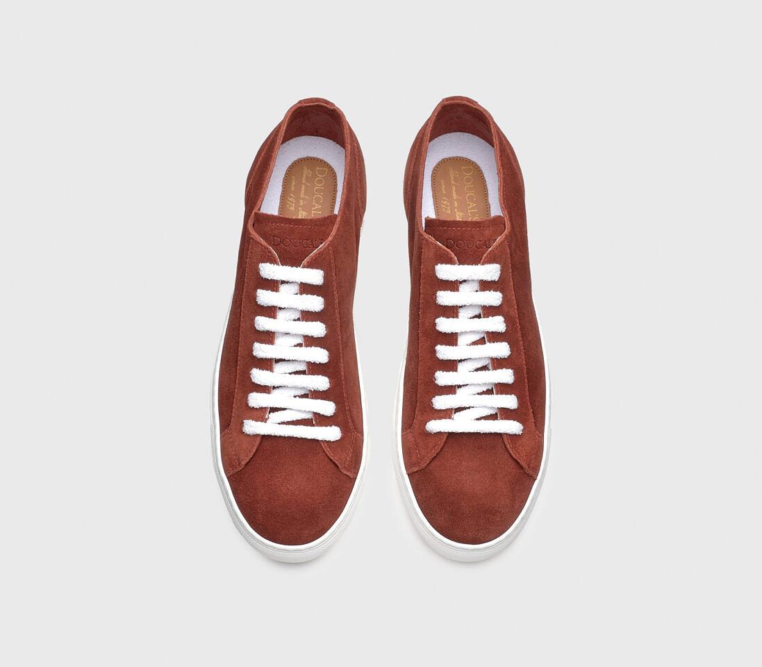 Sneakers da uomo in suede | ruggine - Doucal's