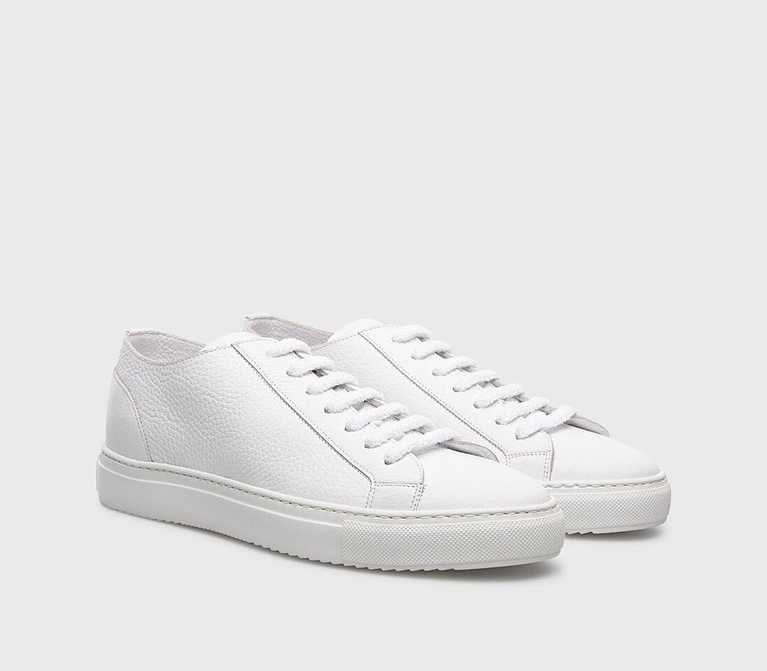 Sneakers da uomo in pelle |bianco - Doucal's