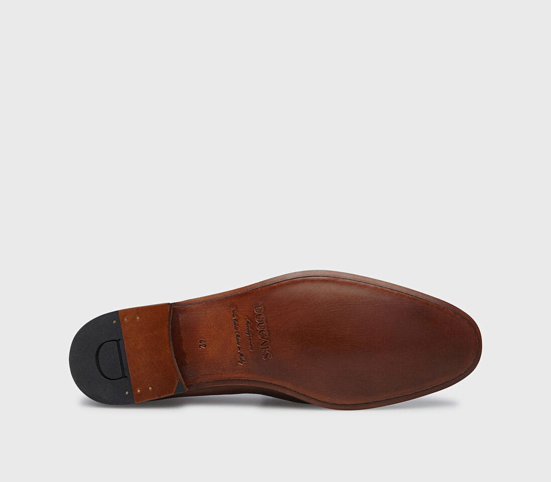 Mocassini frangia da uomo in pelle   marrone - Doucal's