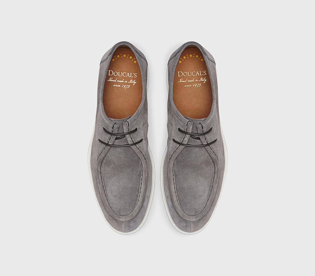 Stringate da uomo in suede | grigio - Doucal's